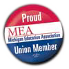Proud Union Member Button
